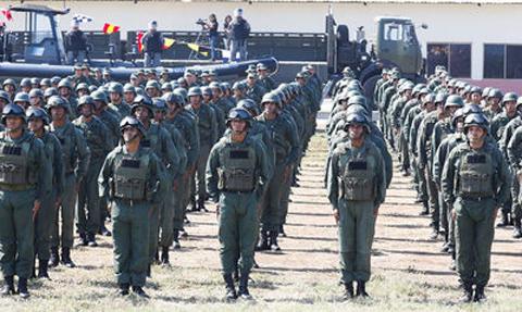 Venezuela-ha-desplegado-tres-mil-soldados-en-la-frontera-con-Colombia