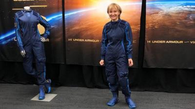 Ketty Maisonrounge: 'Pagué US$250.000 para viajar al espacio'