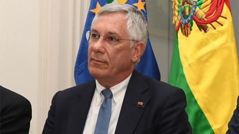 Rodríguez Veltzé califica de 'error' el fallo del TCP sobre la reelección indefinida