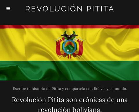 'Revolución Pitita' lanza su blog para fomentar la democracia
