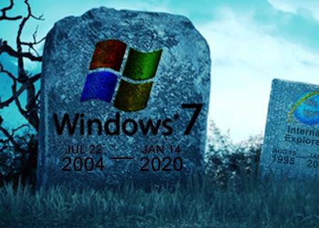 Windows 7 deja de recibir apoyo técnico