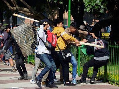 Defensoría pide desmobilizar a grupos civiles que ejercen violencia