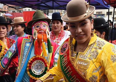Inicia el Carnaval 2020 en el departamento de La Paz