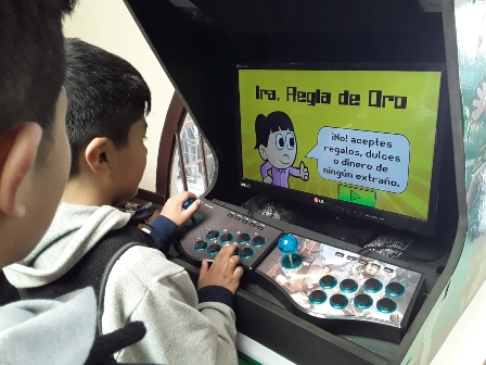 Prevenir 'jugando'