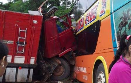 Fatal accidente en la ruta Beni-Santa Cruz