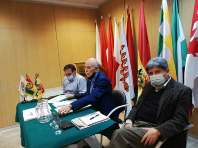 El TSE explicó el protocolo de bioseguridad en la votación de Madrid