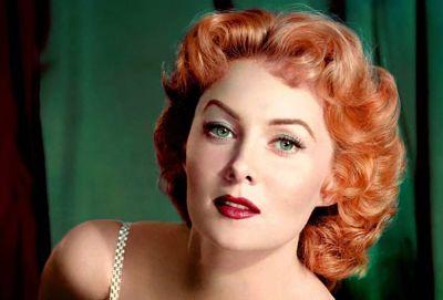 Muere Rhonda Fleming, una de las últimas representantes de la Edad de Oro de Hollywood