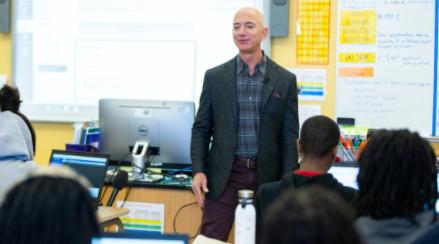 Las tres preguntas que formula Jeff Bezos a quienes aspiran a trabajar en Amazon