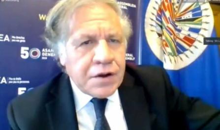 Almagro ratifica los hallazgos de la OEA en las elecciones de 2019