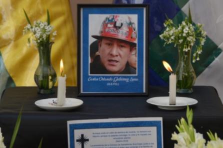 COB y Defensoría exigen investigar el fallecimiento de Orlando Gutiérrez