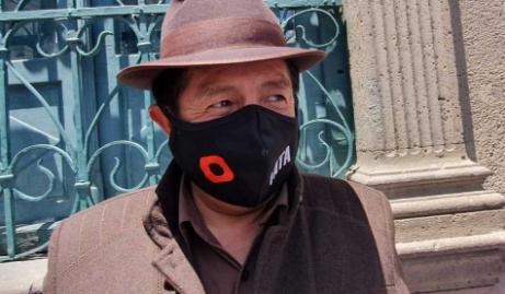 'Sólo muerto no voy a ser candidato', dice Quispe frente a juicio en su contra