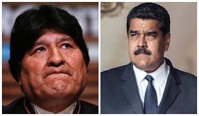 Cancillería decide no extender invitación a Evo Morales ni a Nicolás Maduro para la transmisión de mando