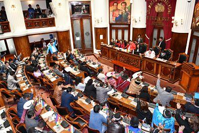 El MAS no revertirá la anulación de los dos tercios en la Asamblea Legislativa