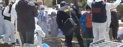 Fiscalía confirma que los restos sí pertenecen a Clavijo