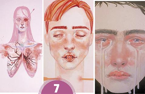 Muestra 'Visceral' Natalia Fali expone en el MAC