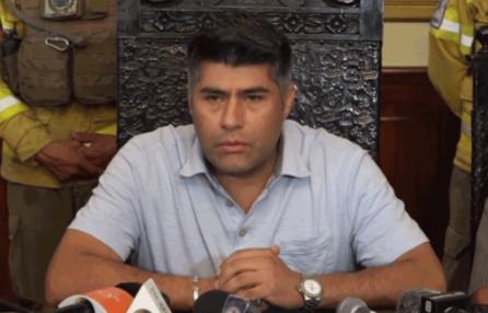 Gobernación de Cochabamba solicita desarticular a la Resistencia Cochala