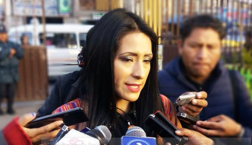 Wilma Alanoca dice que se dedicará a la formación política dentro el MAS