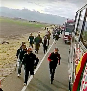 Justicia libera a acusado de disparar contra mineros en la emboscada de Challapata