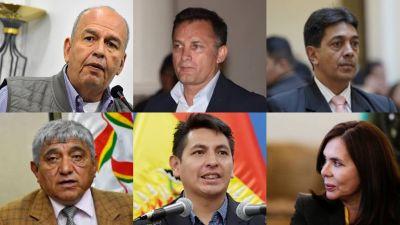 ¿Dónde están los exviceministros y exministros de Jeanine Áñez?