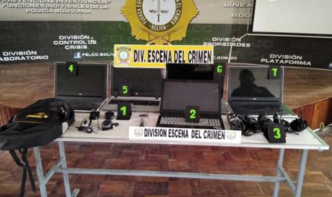 Trabajador despedido robó computadoras de instalaciones del Legislativo