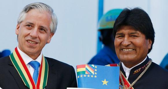 Evo sugiere a García Linera como embajador ante la OEA