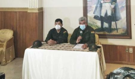 Policía investiga internamente la quema de la Wiphala y otros hechos de noviembre de 2019