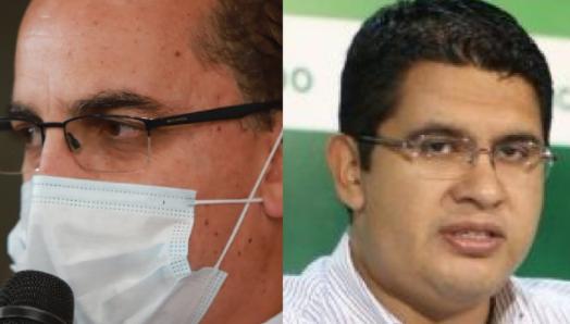 Roly Aguilera y Vladimir Peña renunciaron a la Gobernación cruceña