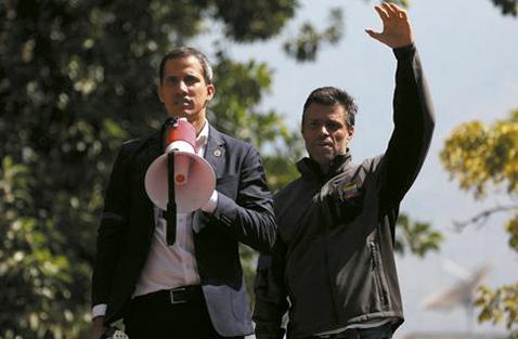 """Guaidó y López anticipan """"fraude"""" en las legislativas"""