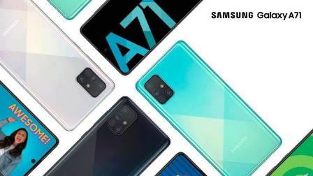 Presentan a los nuevos miembros de la serie Galaxy: A51 y A71