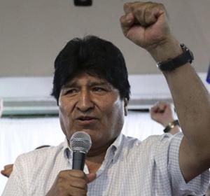 Evo apela a la comunidad internacional para que se acepte su 'Gran acuerdo por la paz' en Bolivia