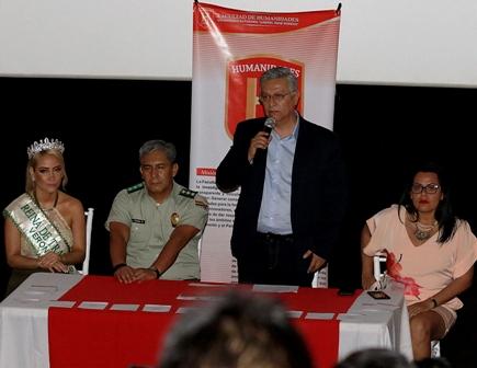 Policía y Uagrm lanzan campaña preventiva