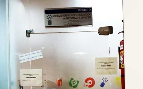 Precintan-Viceministerio-de-Educacion-Alternativa-por--indicios-de-corrupcion-