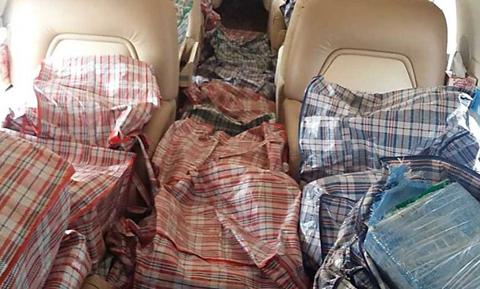 Envían a Palmasola a tres involucrados con 'narcoavión' capturado en México