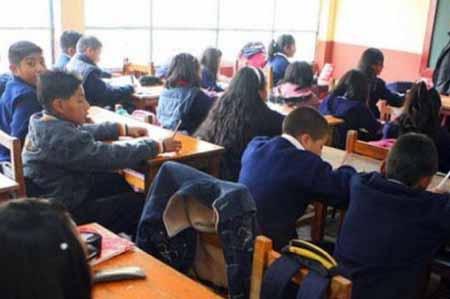 La Paz: Colegios dan tolerancia a estudiantes debido a las lluvias