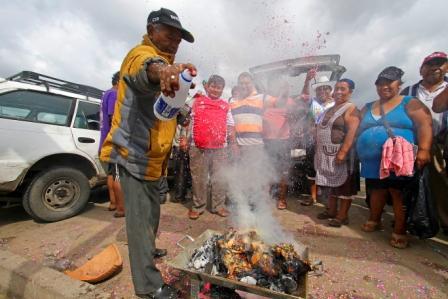 'Challa', la tradición más arraigada para despedir el carnaval