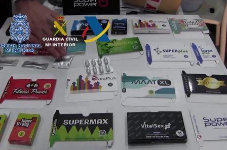 Tráfico ilegal de medicamentos en España
