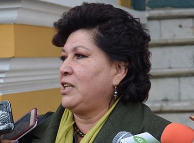 Diputada del MAS: 'No entendemos cuál es la razón para dictar un estado de sitio'