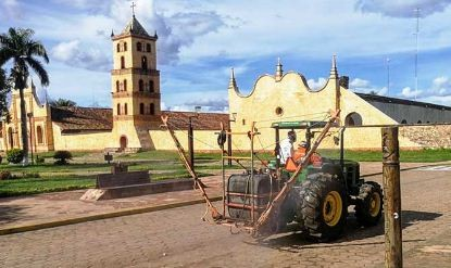 San-Jose-de-Chiquitos-comenzo-a-desinfectar-sus-calles-contra-el-Covid-19