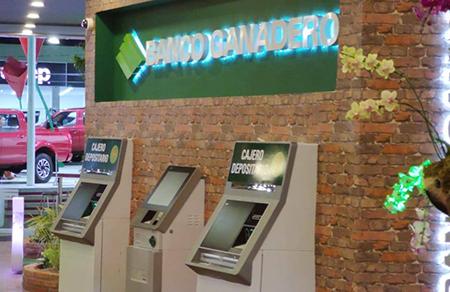 Banco Ganadero da seis consejos para ir al cajero automático
