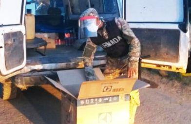 Retienen ambulancia que transportaba cerveza en Laguna Suárez
