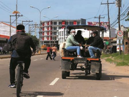 Transporte en carrozas un medio útil y riesgoso