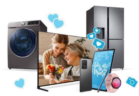 Por el Día de la Madre, Samsung regala dinero por la compra de sus productos