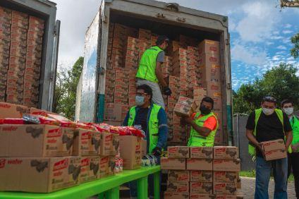 Nestlé y Mabel´s donan más de 250 mil productos alimenticios para familias más necesitadas