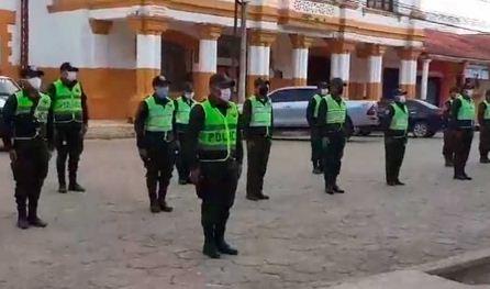 Policia-en-Beni-homenajea-a-sargento-fallecido-en-cumplimiento-del-deber