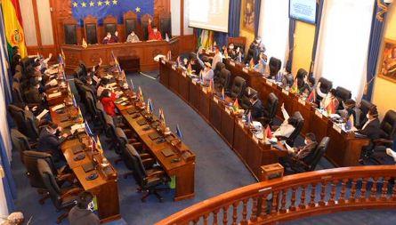 Legislativo-reprograma-sesion-para-conformar-comisiones-que-indagaran-hechos-de-corrupcion