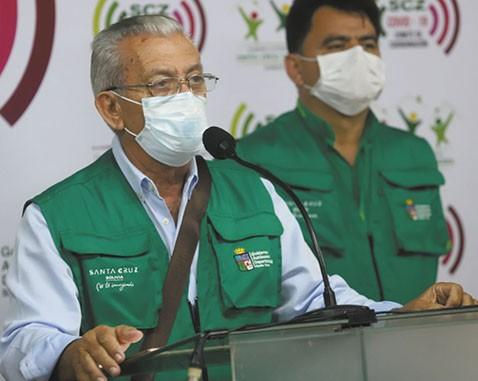 Santa-Cruz-mantiene-cuarentena,-piden-condiciones-al-Gobierno-para-flexibilizar