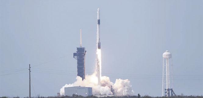 Historico-lanzamiento-del-cohete-SpaceX