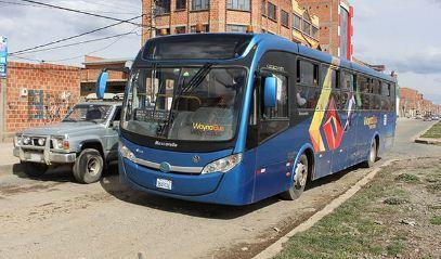'WaynaBus' reanuda operaciones la próxima semana en su ruta 'circular' en El Alto