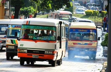 Con el 60% de su capacidad, el transporte público retorna el 6 de julio