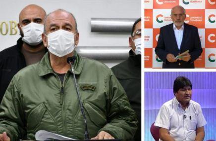 Murillo acusa a Mesa y Morales de tener el 'síndrome de Estocolmo'